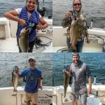 Trout and Salmon Caught On Lake Michigan - Milwaukee Salmon Fishing Report
