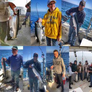 fish caught on Lake Michigan - 6/4/219
