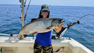 Lake Michigan Fishing Report - 8/5/2019