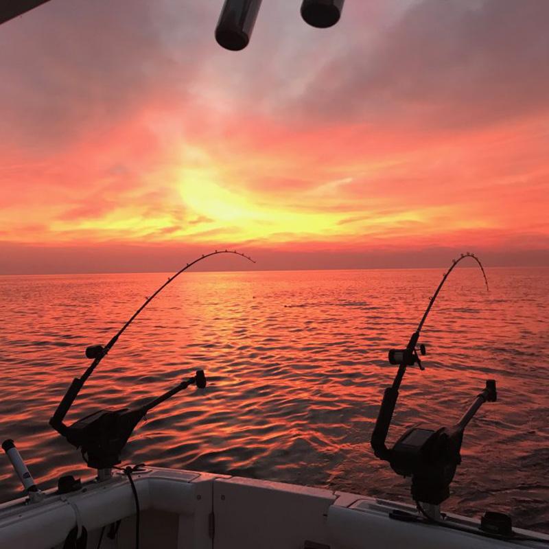 Fishing Lake Michigan - All Anglers Charter Service