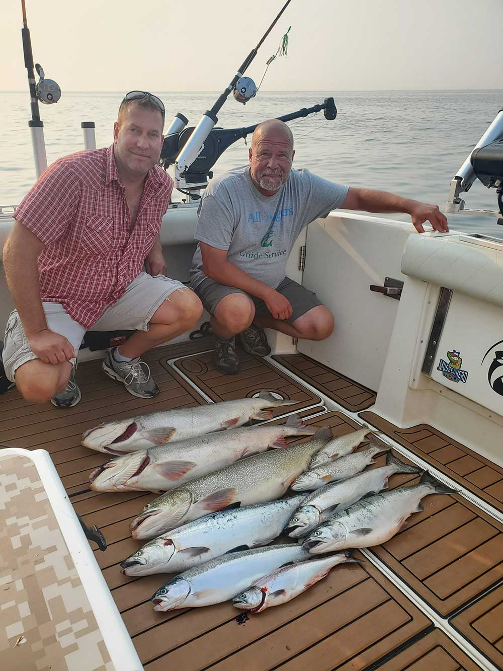 Milwaukee Charter Fishing On Lake Michigan