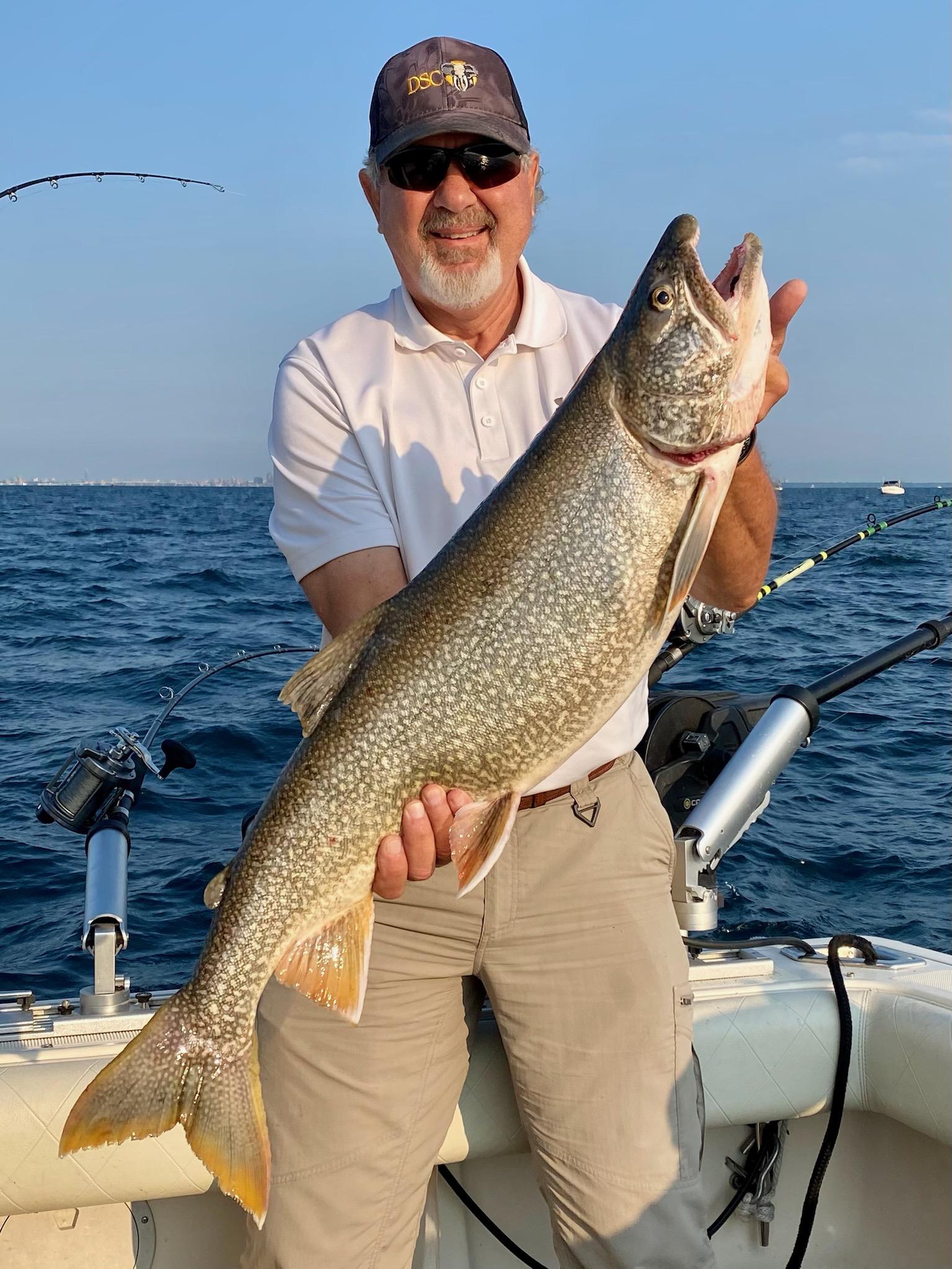 Milwaukee Lake Trout Fishing